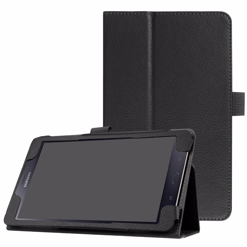 Slim Folding Stand Cover Case for Samsung Galaxy Tab A 8.0 ( 2017 Release) T380/T385 +free gift