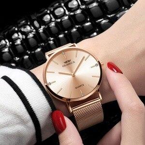 Image 5 - OLMECA トップブランドの高級時計ファッションレロジオ Feminino 腕時計防水女性の腕時計ドロップ出荷ドレス腕時計