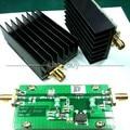 1 MHz-700 MHZ 3.2 W HF VHF UHF transmissor FM Amplificador De Potência de RF Para Ham Radio + Dissipador de Calor