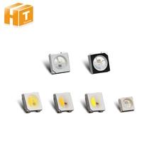 10 ~ 1000 pièces WS2812B rvb puce LED noir/blanc Version SK6812 rvb/RGBW/WWA 3535/5050 SMD adressables individuellement puce LED Pixels