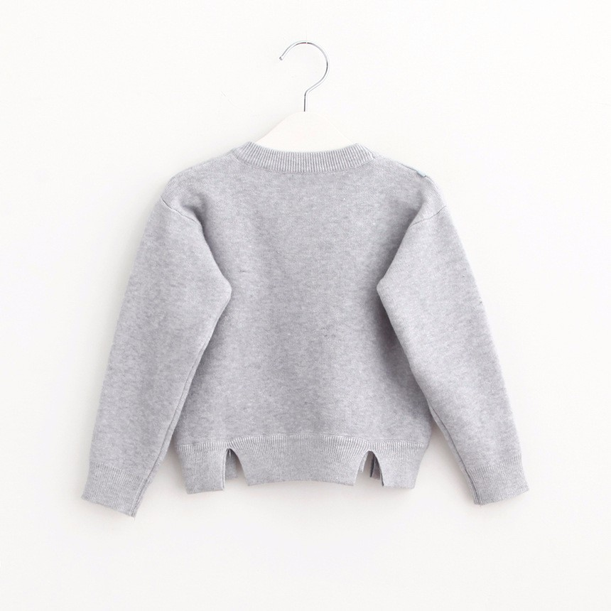 Girls Cardigan Sweater (2)