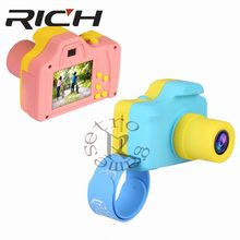 1.77Inch 32GB Mini Digital Camera Toys Kids Baby Full Color LSR Cartoon Camcorder Video Recorder Support TF Card(China)