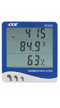 Wholesale prices Victor New digital Indoor Thermometer Hygrometer Clock Victor VC230