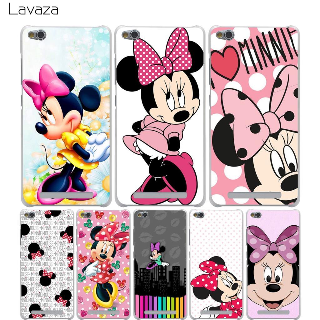 Lavaza Minnie mouse Case for Xiaomi Redmi Note 3 Pro 5a Prime 3s 4 8 mi8 SE mi6 5 4a 4x mi a1 Plus