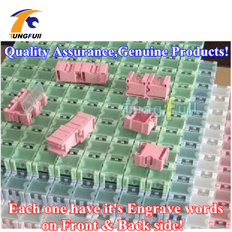 Tungfull 100pcs SMD SMT Component Container Storage Boxes Electronic Case Kit The 1 Automatically Pops Up Patch Box in Tool Parts from Tools