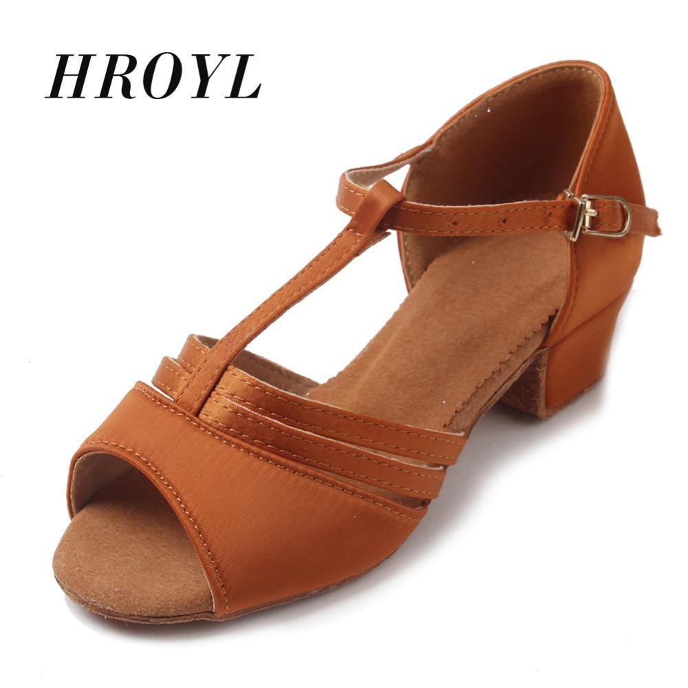 High Quality Children Latin Dance Shoes/ Salsa Dance Shoes /Tango Ballroom Dancing Shoes For Women Girls  Colors