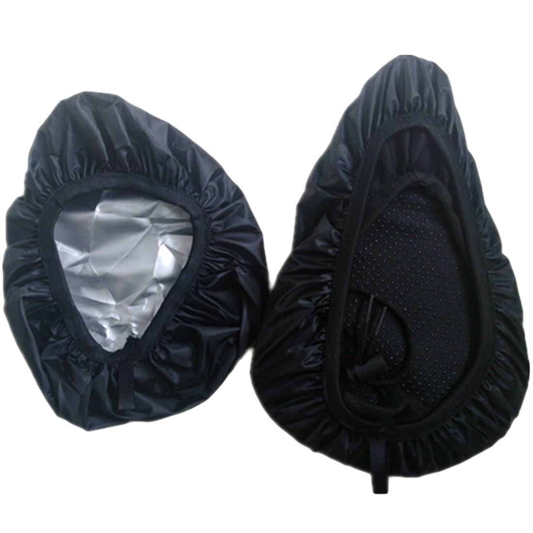 Outdoor Waterproof Cycling Bike Bicycle Seat Rain Cover Elastic Dust and Rain Resistant UV Protector Bike Accessories