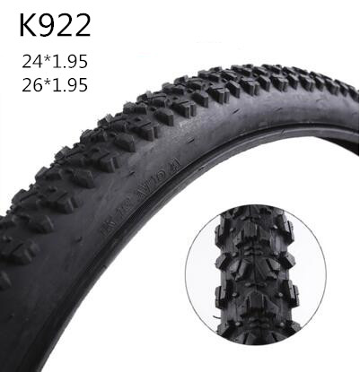 ФОТО K922 high quality bicycle tire/mtb 24*1.95 & 26*1.95 inch mountain bike tyre tires road bicycle tires bike parts accessories