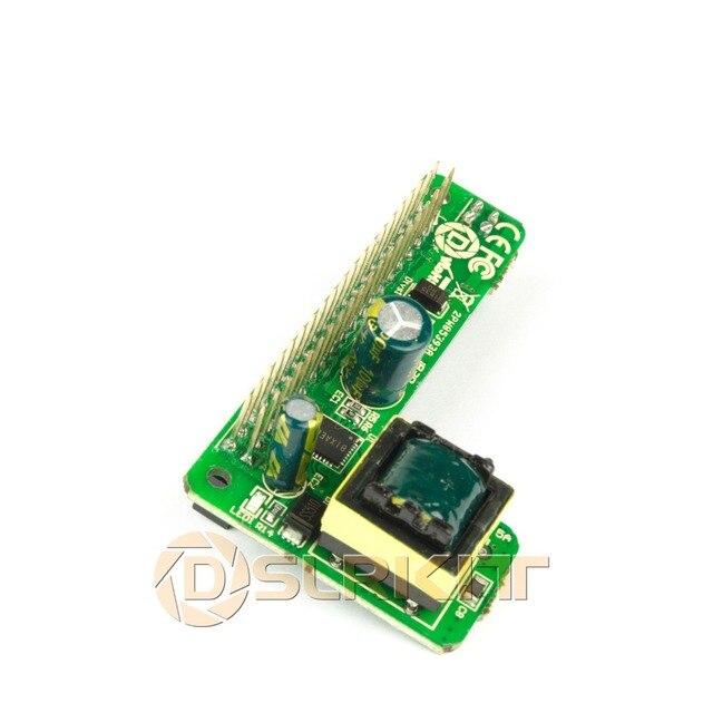 DSLRKIT פטל Pi 3B + 3B בתוספת Power Over Ethernet PoE כובע IEEE802.3af DC 5 V 2.5A