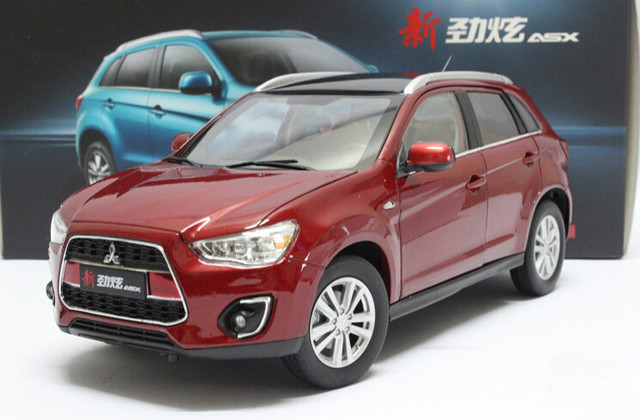 2015 hot sell mitsubishi asx suv 1 18 alloy car model in. Black Bedroom Furniture Sets. Home Design Ideas