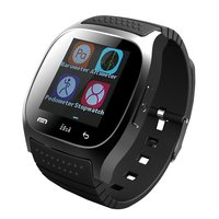 M26 Bluetooth Smart Watch Unlocked Cell Phone Passometer Monitor SMS Wristwatch Waterproof Smartwatch Android IOS Adult Kids