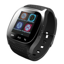 Лучшие M26 Bluetooth Smart часы разблокирована сотовый телефон Шагомер монитор SMS наручные Водонепроницаемый SmartWatch Android IOS для взрослых и детей