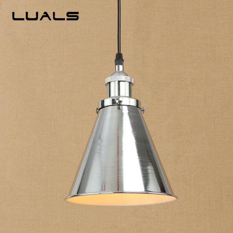 Лофт ретро подвесной светильник креативный металлический абажур Регулируемый подвесной светильник для ресторана подвесные светильники для домашнего освещения