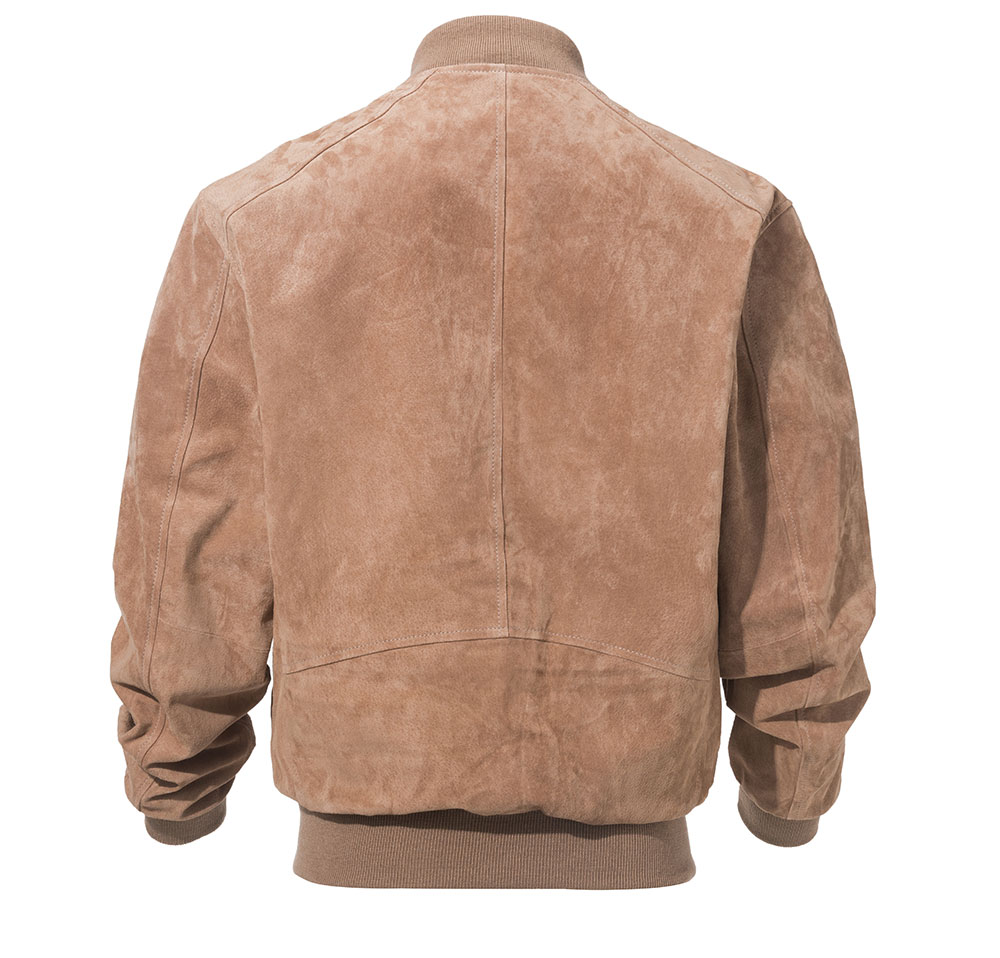 HTB11uNrKr5YBuNjSspoq6zeNFXat FLAVOR Men Classic Real Pigskin Coat Genuine Baseball Bomber Leather Jacket