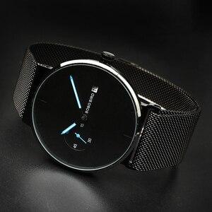 Image 3 - Relogio Masculino Bobo Vogel Mannen Horloge Luxe Rvs Datumweergave Quartz Horloges Vrouwen Geschenken Accepteren Logo Drop Shipping