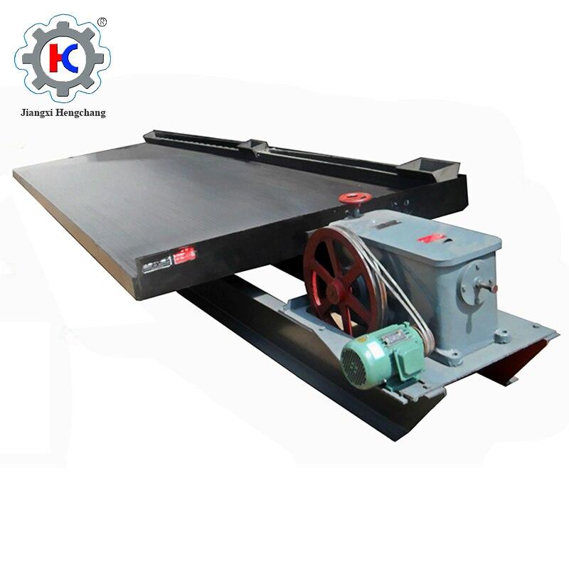 Mineral Schütteln Tabelle 60 T/d Gold Trenn Maschine/bergbau Schütteln Tabelle Schrecklicher Wert
