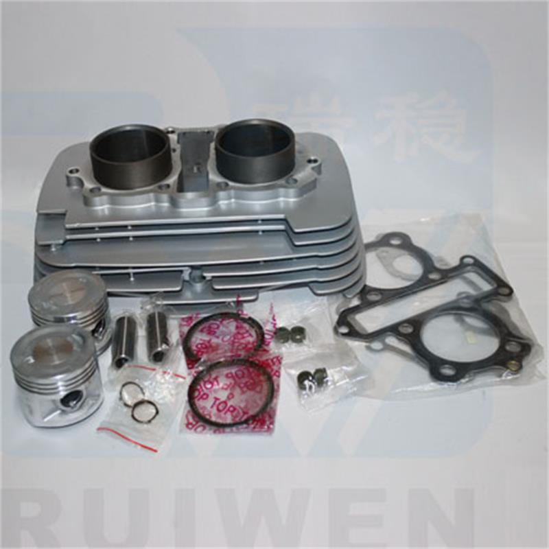 Engine Spare Parts 53mm Motorcycle Cylinder Kit Piston For Honda CBT250 CA250 Rebel CMX250 DD250 CBT