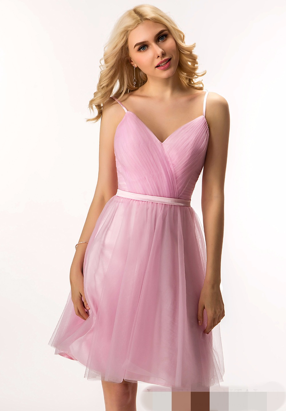 Asombroso Caer Vestido De Dama Elaboración - Colección de Vestidos ...