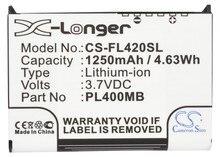 Cameron Sino 1250mAh Batterij PL400MB, PL500MB voor Fujitsu Loox 400,410,420, C500, C550, N500, n520, N520c, N520p, N560, N560C, N560e, N560p