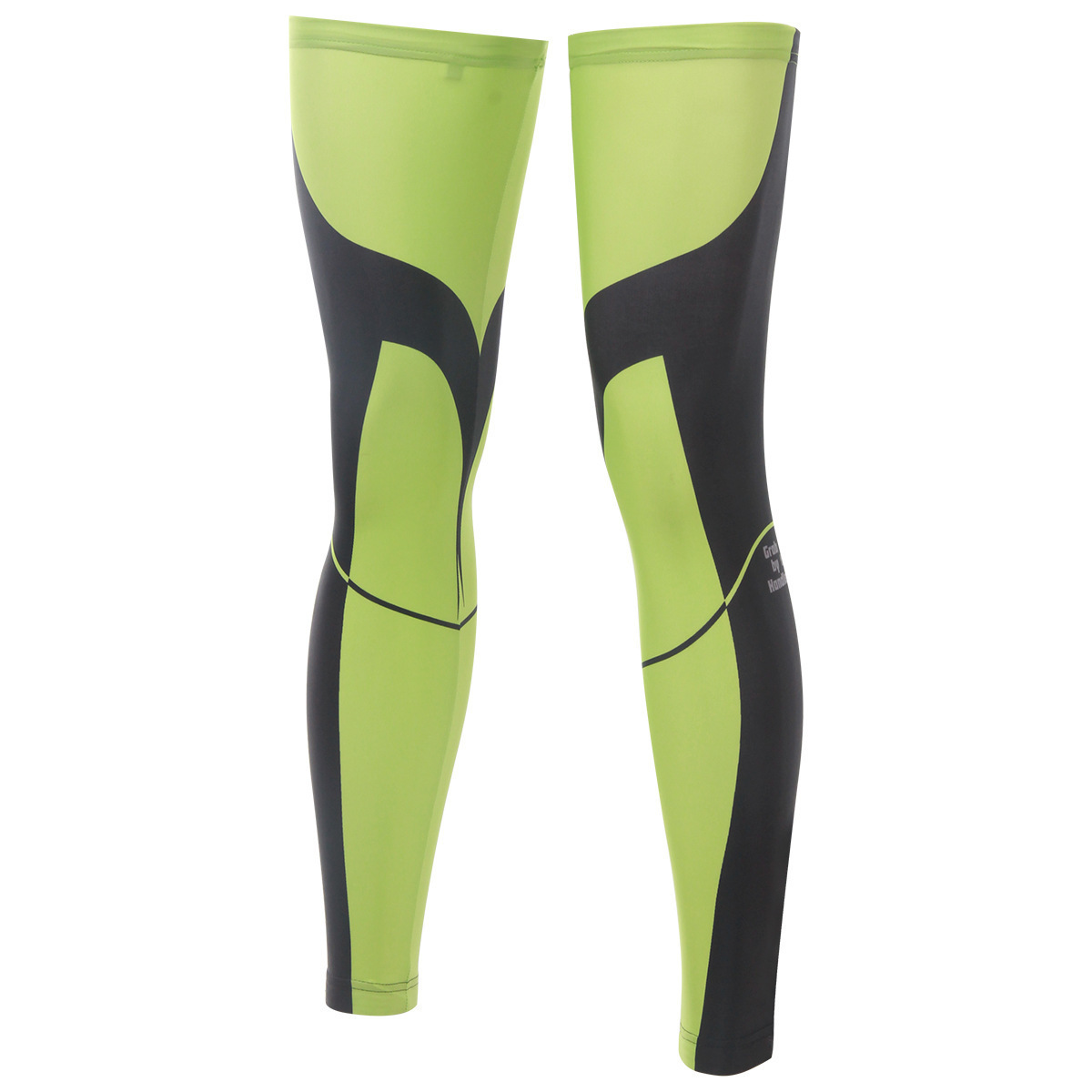 BOODUN Ride With Green Riding Leg Set Cycling Outdoors Sunscreen Leg Set Bicycle Motion Defence Leggings Set