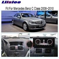 Liislee 10,25 Android для Mercedes Benz C Class 2008 ~ 2010 сенсорный экран gps навигация Радио стерео тире мультимедийный плеер