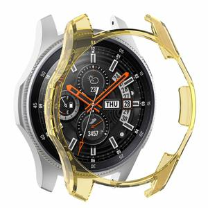 Image 5 - 6 Colors PC Case For Samsung Gear S3 Frontier Watch Shell Cover Screen Protector For Galaxy Watch 46MM Sport Watch