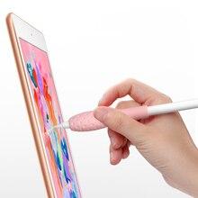 Силиконовый чехол для Apple Pencil 1-го / 2-го поколения силиконовый карандаш для яблока для 9,7 10,5 12,9 iPad Pro Кожа для защиты карандашей