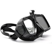 GoPro Accessories Go Pro Hero 1/2/3/3+/4 SJCAM SJ4000/5000/6000 For Xiaomi yi Swim Glasses Diving Mask Mount for Action Camera