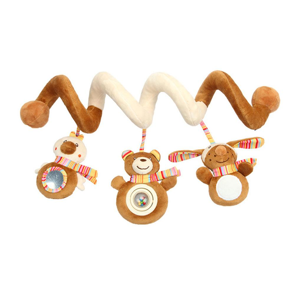 NEW Bed Music Sing Bed Ring Toy Plush Bed Hanging Car Hanging Supplies for Mother and Child Wholesale