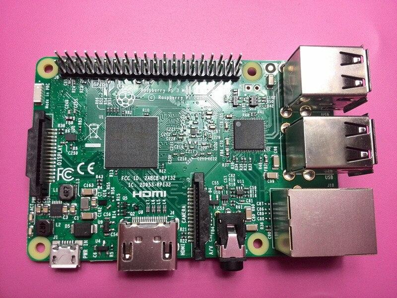 ФОТО 2016 New Raspberry Pi 3 Model 3 B Board Wifi Bluetooth Connector 1.2Ghz 64bit 1GB RAM