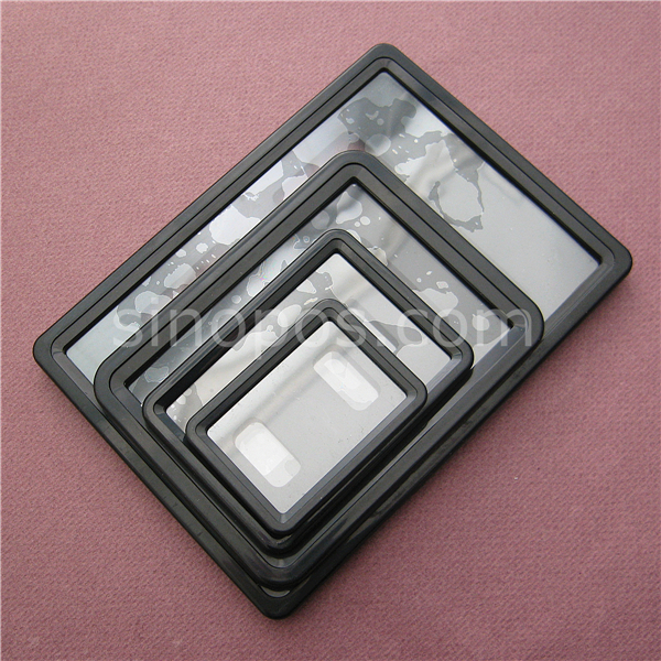 Plastic Pop Sign Frame With Back Clip Holder A6 A7 A8 A9