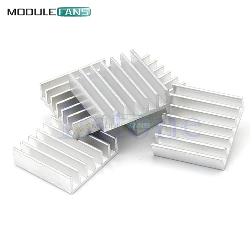 Genteel 10pcs Diy Led Power Memory Chip Ic High Quality 14x14x6mm Aluminum Heat Sink Integrated Circuits Electronic Components & Supplies