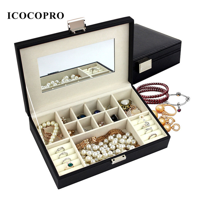 Jewelry Box Travel Jewelry Organizer Packaging Display Stand Jewelry