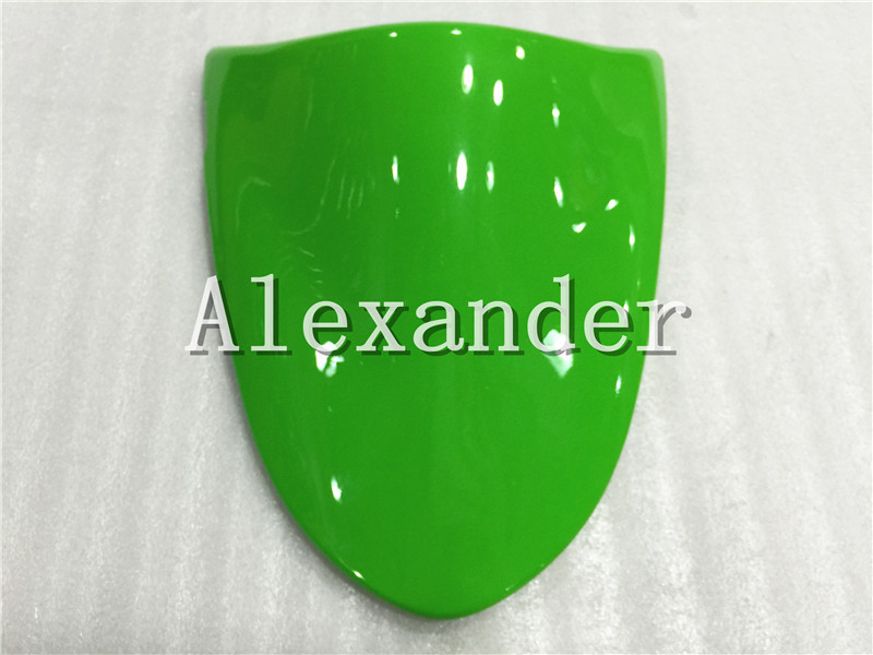 Green Rear Seat Cover Cowl Solo Motor Seat Cowl Rear For Kawasaki ZX6R 2005 2006 Zx6r 636 ZX10R 2006 2007 ZX 10R ZX 6R