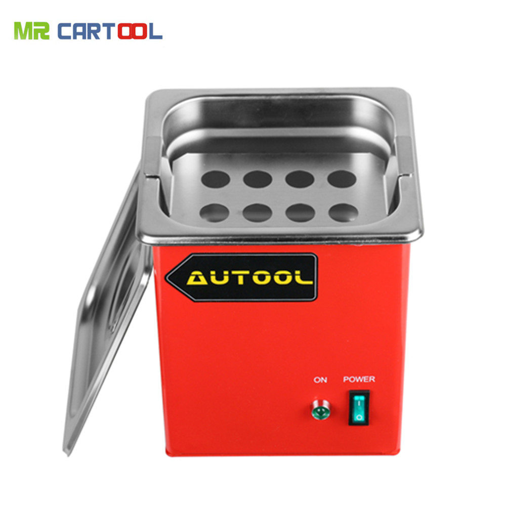 AUTOOL MCT100 Ultrasonic Car Fuel Injector Cleaning Machine Cleaner 1000ML Injector Spark Plug For LAUNCH CNC602A CT200 220v