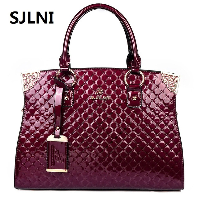 100% Genuine Leather Bags Women s SJLNI Famous Brand Designer Handbags High  Quality Tote Shoulder Messenger Bags Dollar Price 19939e8174511