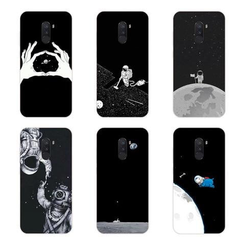 Xiaomi Pocophone F1 Case,Silicon Black graffiti Painting Soft TPU Back Cover for Xiaomi Pocophone F1 Protect Phone cases shell Karachi