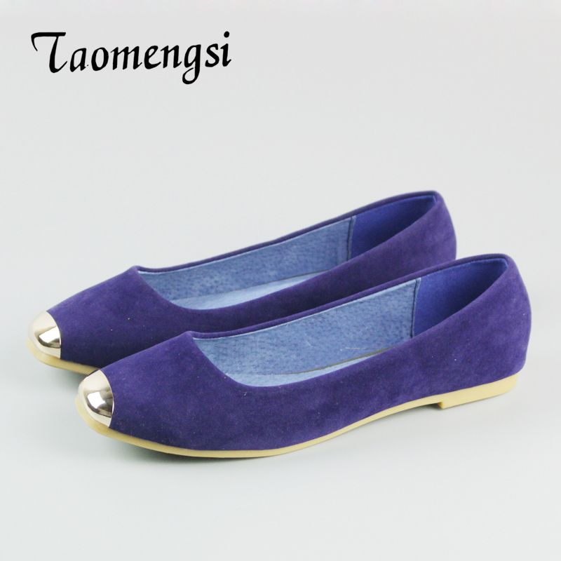 2016 Women Fashion Flats Shoes Square Toe Leather Shoes Women Loafers Woman Flats Plus Size Ballet Flat With Shoes Woman 35-42 2017 fashion women shoes woman flats high quality casual comfortable pointed toe rubber women flat shoes plus size 35 42 s097