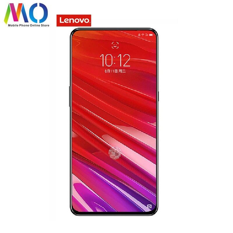 Оригинальный lenovo Z5 Pro телефон Смартфон Android мобильного телефона 6 GB 64 GB восьмиядерным распознавания лиц 6,39 отпечатков пальцев 24MP 1080 P