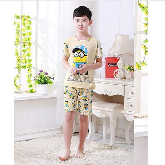 Conjunto de pijamas para niños, ropa casual 4