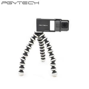Image 5 - PGYTECH Adapter voor osmo action mobiele zhiyun Gopro Hero 7 6 5 4 3 + xiaoyi 4 K glad Q accessoire schakelaar mount plaat Camera