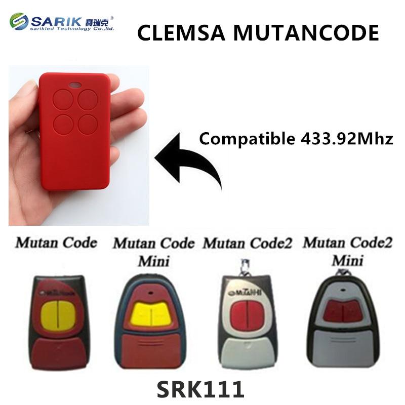 Super function Copy CLEMSA MUTANCODE remote control duplicator rf remote control CLEMSA Cloner