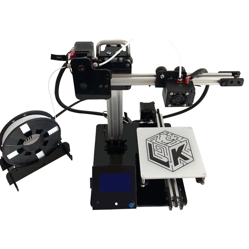 3-d-drucker Begeistert Mini Lk Diy 3d I3 Drucker Kits Selbst-montieren 150*150*150mm Druck Größe Mega Cpu Mit Auszusetzen Druck Funktion