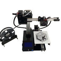 MINI LK DIY 3D I3 Printer kits Self assemble 150*150*150mm Printing Size Mega CPU with Suspend Printing Function