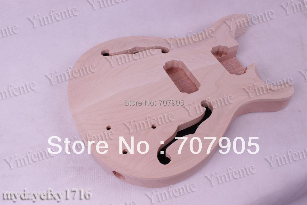 New Electric guitar body Mahogany High quality Free shipping 1 pcs 2016 shanghai guitar show new body acrylic guitar real guitar photos free shipping