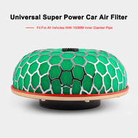 Auto Universal Super Power Car Air Filter 1PC 100mm Turbo High Flow Racing Cold Engine Auto Air Filter Free Shipping