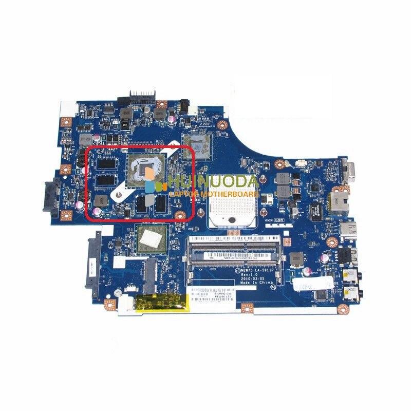 NOKOTION NOKOTION NEW75 LA-5911P MBR4302001 MBR4302001 Pour acer aspire 5552G Ordinateur Portable carte mère DDR3 Carte Mère