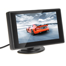 Wholesale prices 4.3 Inch Digital Color TFT LCD Car Rear View Monitor + 420TVL Night Vision Waterproof CMOS Rear View Camera for Security