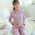 Maternity Sleepwear Suit Breastfeeding Clothes Pajamas Nursing Tops+pants for Pregnant Women Maternity Clothing Nursing B360