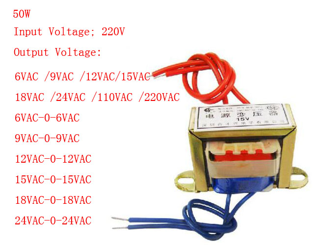 (1)50W EI Ferrite Core Input 220V 50Hz Vertical Mount Electric Power Transformer Leave A Message For The Output Voltage input 220v output 15v x 2 50w toroidal transformer power supply transformer electric power transformer ei ferrite core